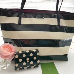 kate spade ♠️ Sophie Penn Valley Tote and Wallet